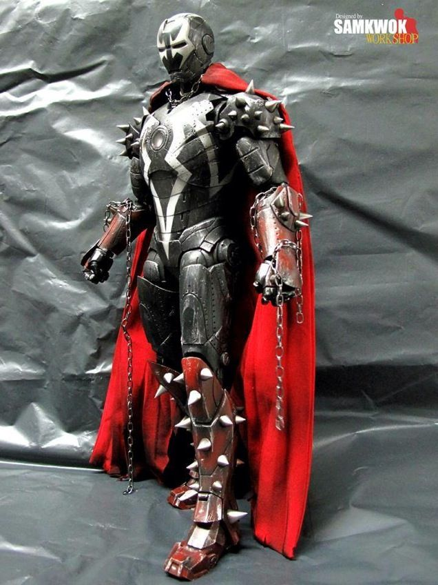 Incredible Customized Iron Man Figures                                                                                                                                                      More