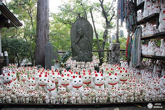 Setagaya, le quartier des maneki neko et de Totoro