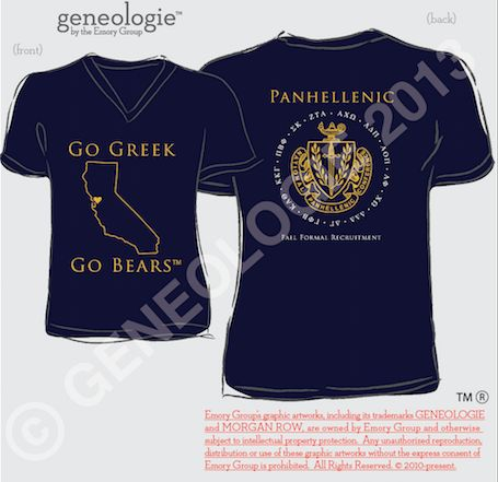 Panhellenic crests are always a winner! #recruitment #panhellenic #greek