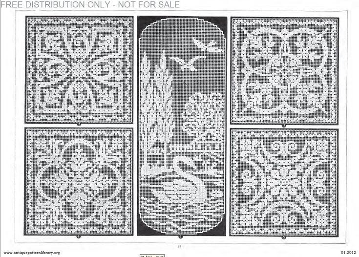 filet crochet ancient
