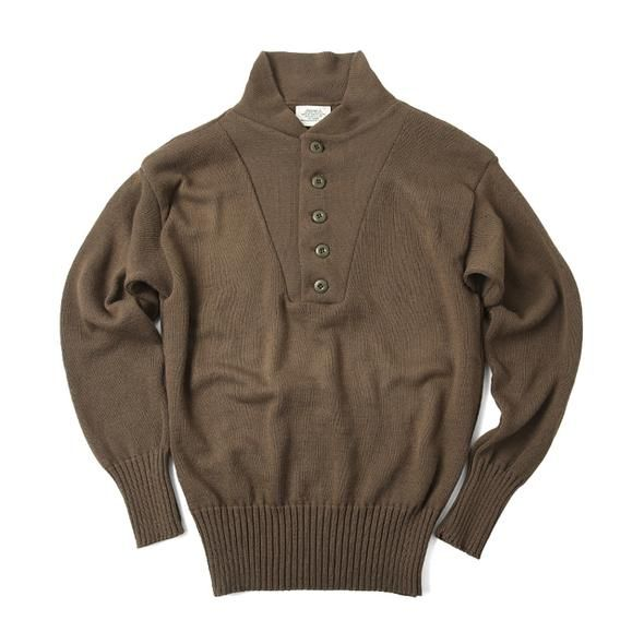 U.S. WWII Wool 5 Button Sweater | Button sweater, Sweaters, Wool