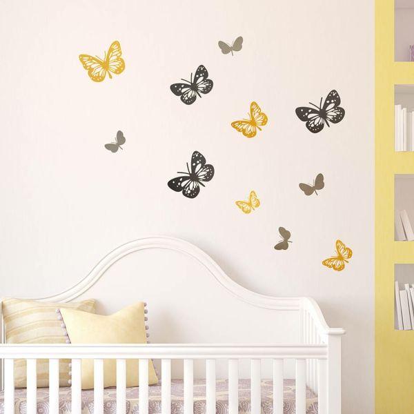 Die besten 25+ Wandsticker baby Ideen auf Pinterest - wandgestaltung babyzimmer