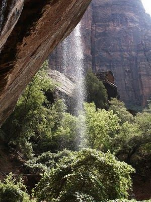 waterfall hikes in Utah