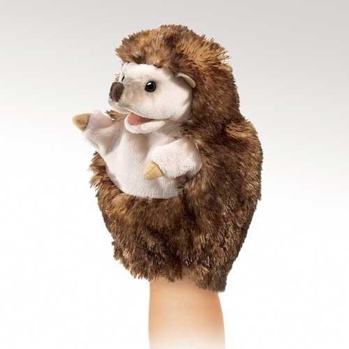 Folkmanis Little Hedgehog Little Puppet - 2966