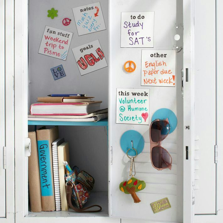 [ ] Having A Perfectly Decorated Locker