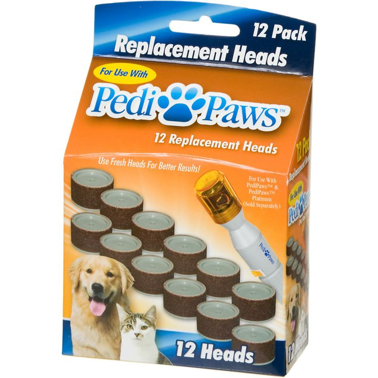 PediPaws Replacement Filing Heads | Dog Stuff!