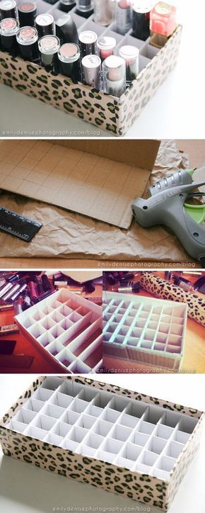 33 Creative Makeup Storage Ideas And Hacks for women looking to save money with DIY