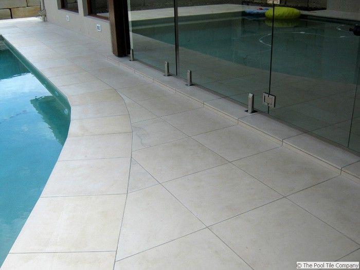 Honed Himalayan Sandstone 400x400mm Pool Tiles