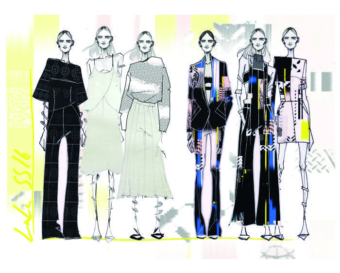 Berlin Fashion Week Special Lala Berlin Interview Skizze Preview | Interview