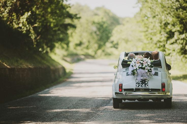 Emma + Todd, wedding in Smerillo » Cinzia Bruschini | wedding | portrait | lifestyle #fiat500 #italy