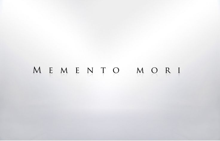 """Small tattoo. Massive meaning. I'd have this horizontally on my wrist, just about where my watch would sit. Daily reminder that hits home. Momento Mori is a Latin phrase which translates to """"remember your mortality"""". I first heard this phrase several years ago shortly after I joined the Freemason fraternity, and it is a phrase that has profoundly shaped my life ever since. It is a phrase that has both motivated me to achieve my goals, as well as caused me to enjoy life to the fullest, to…"""