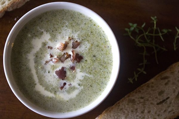Creamy Broccoli Soup l Recipe for low carb #banting friendly soup