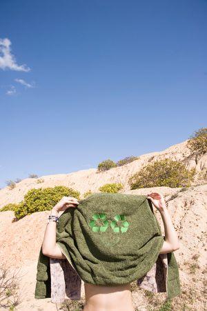 PER—TIM Blanket Towel - Planet print
