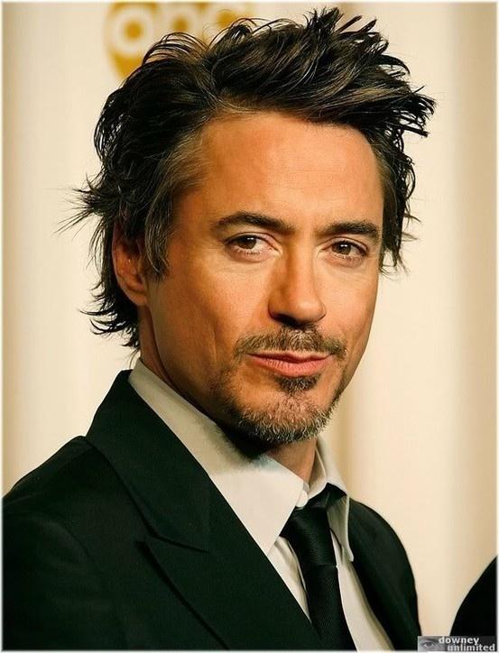 Hot guy! Robert Downey, Jr.