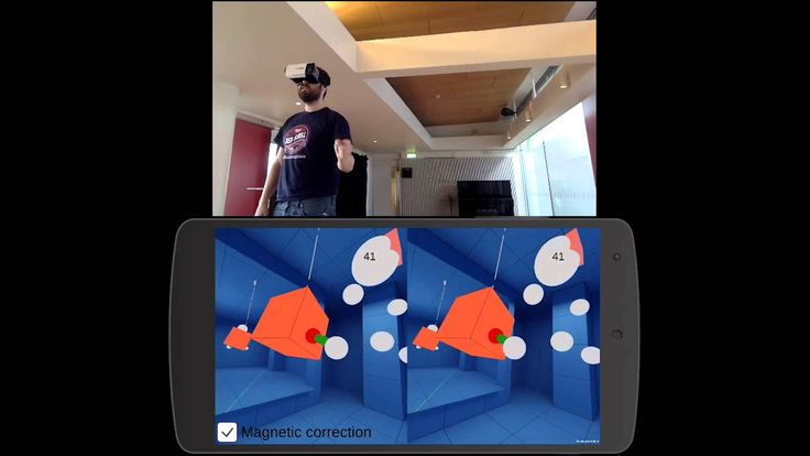 First test of VicoVR with Unity