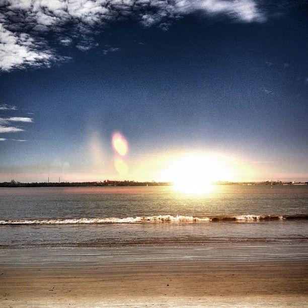 Praia de Camburi em Vitória, ES