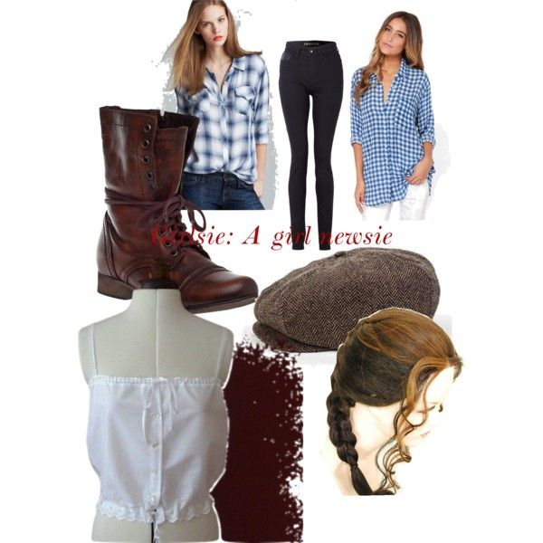 Newsies Inspired Outfit Broadway Inspired Fashions