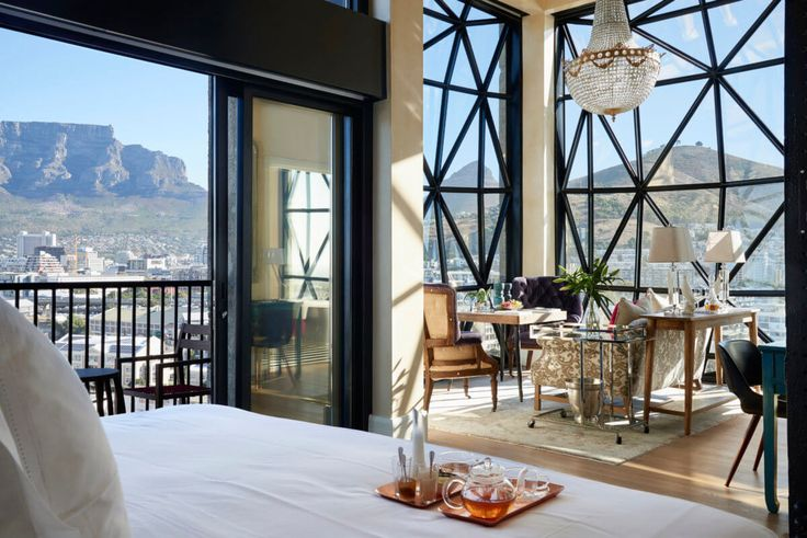With panoramic views of Cape Town, The Silo in South Africa does not disappoint.