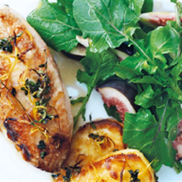 Try this Chicken with Haloumi and Honey recipe by Chef Donna Hay. This recipe is from the show Donna Hay – Fast, Fresh, Simple.