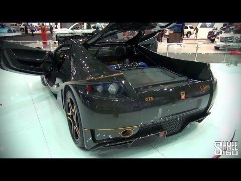 GTA Spano Full Carbon  Dubai Motorshow 2013  Spania GTA continue to sh