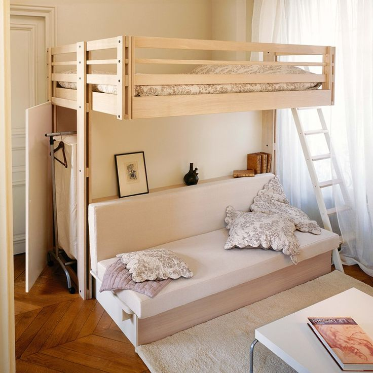 les 72 meilleures images propos de lits mezzanine sur pinterest mezzanine lits superpos s d. Black Bedroom Furniture Sets. Home Design Ideas