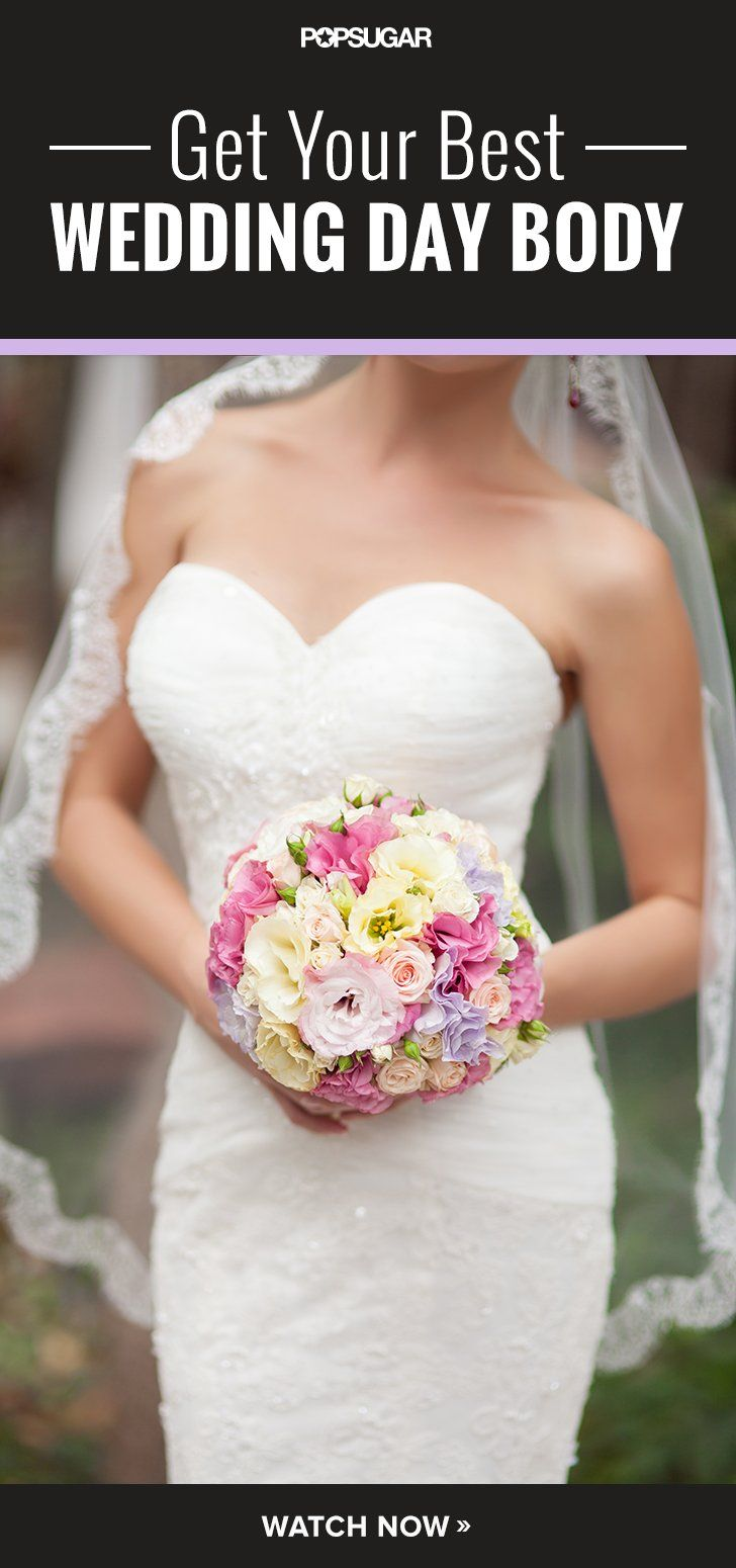 Pin for Later: Shed to Wed: 10-Minute Bridal Workout