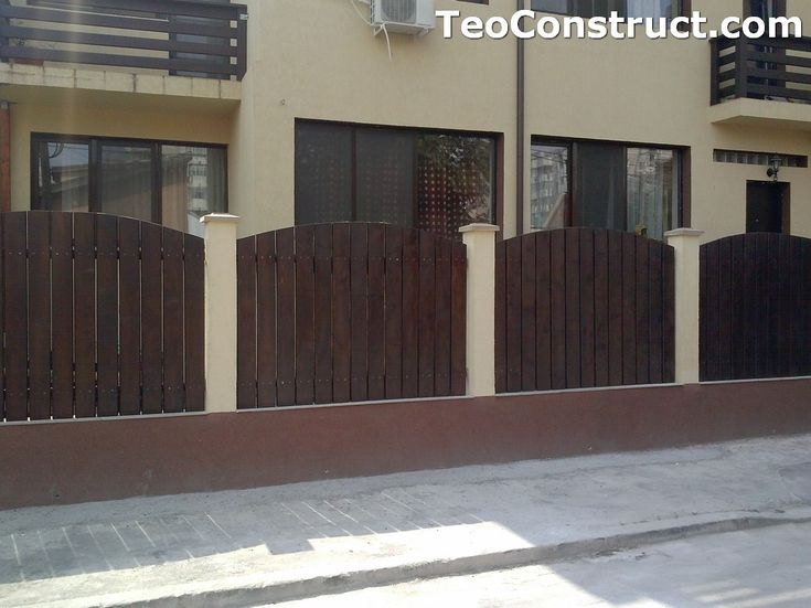 Garduri din lemn Oradea 12