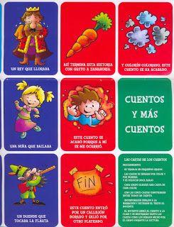 Menta Más Chocolate - RECURSOS PARA EDUCACIÓN INFANTIL: Tarjetas para INVENTAR CUENTOS