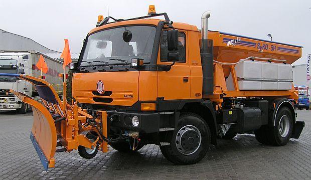 Tatra T815-280 R45 4x4 snowplough & rescue