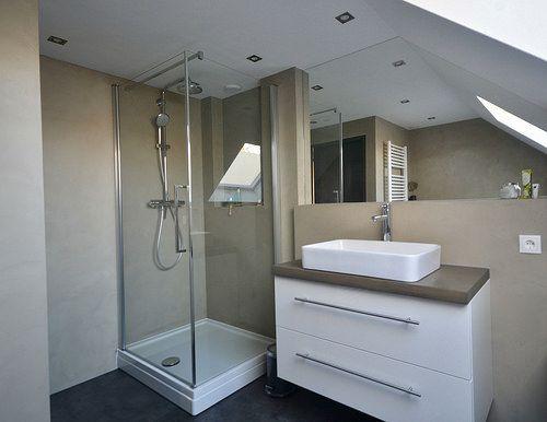 17 beste idee n over landelijke stijl badkamers op pinterest badkamer kranen boerderijkeukens - Kleine badkamer zen ...