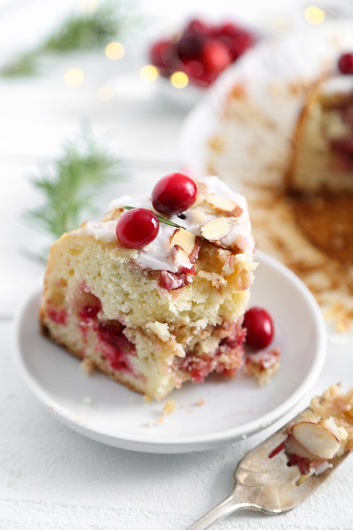 Cranberry Almond Coffee Cake Sprinkle Bakes