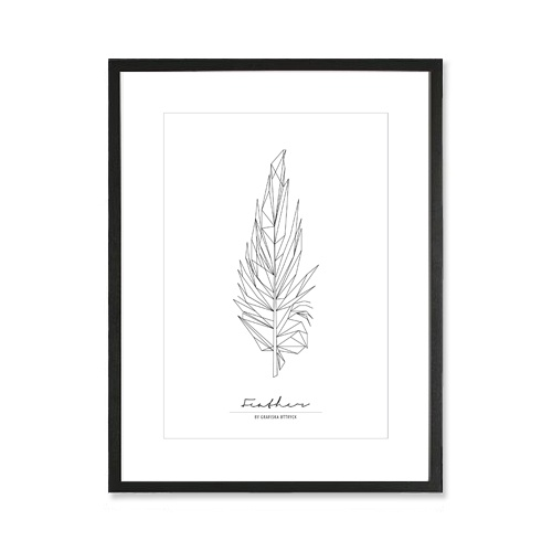 Feather poster, 249 kr (SEK) buy it here: http://adorna.se/products/4985