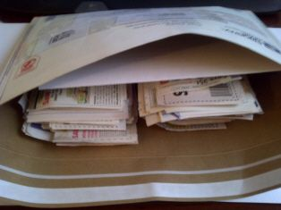 Sending coupons to military families overseas
