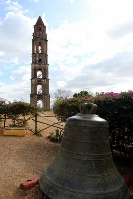 The bell from the Valley de los Ingenios tower