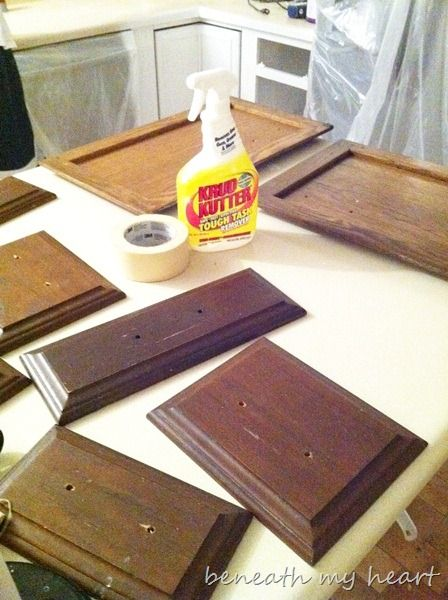Painting our Kitchen Cabinets (Supplies and Process