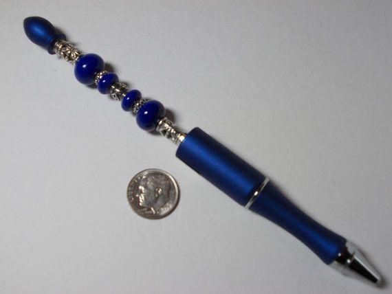 Bead Pen Gift Bag - Black Velvet