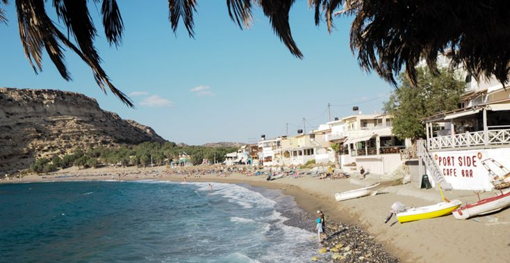 Matala Kreta Griechenland Sommerurlaub Urlaub Travel