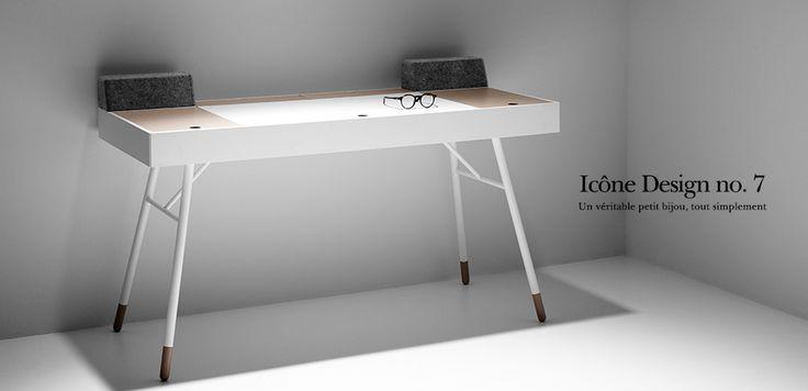 ic ne design boconcept le bureau cupertino la baraque pinterest ic nes bureaux et. Black Bedroom Furniture Sets. Home Design Ideas