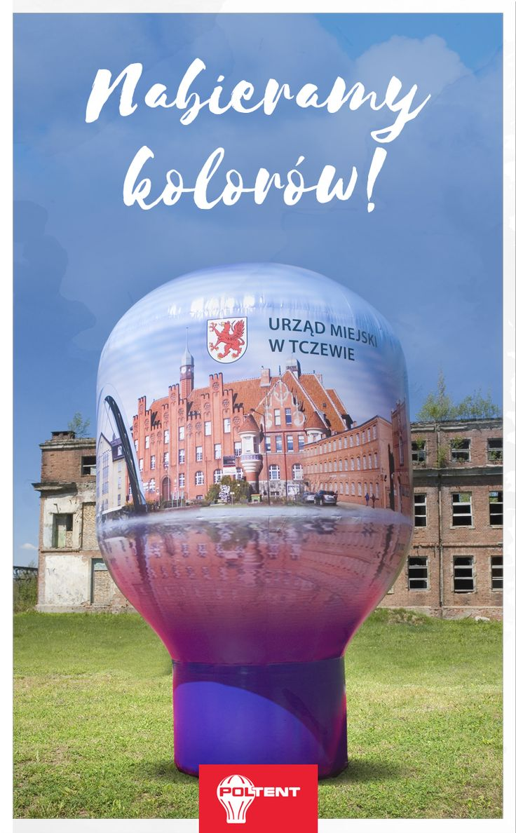 Wiosną nabieramy kolorów! 🌻🌺🌼   Balon Delta 100% zadruk.  🦋 🥀 We are gaining colors in spring! 🌻🌺🌼   Balloon Delta, full print.