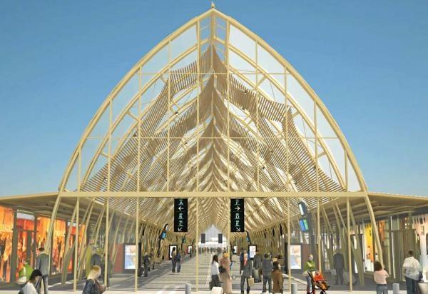 Dès juin 2013 la nouvelle gare Saint-Roch | La Gazette de Montpellier.fr