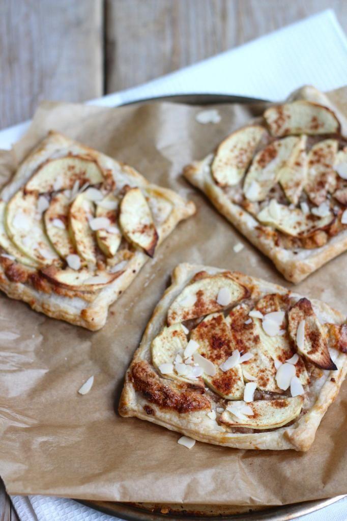 Snelle appeltaartjes met spijs