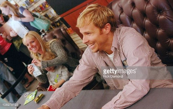 Brian Littrell during Brian Littrell Release Party for New Album 'Welcome Home' at LifeWay Christian Book Store May 2 2006 at LifeWay Christian Book...