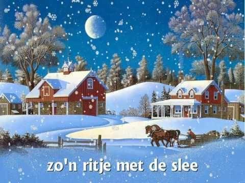 """♪ Kerstliedje: """"Jingle bells"""" met tekst! - YouTube"""
