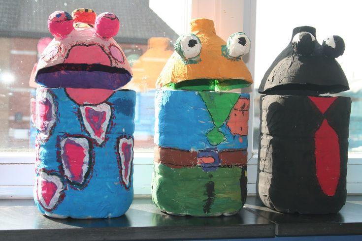 De leerlingen van 5A!: Knutselen met grote flessen 2...