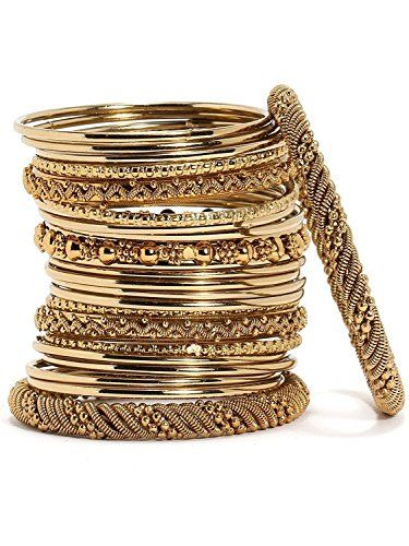 Elegant Bollywood Style Wedding Gold-Plated Bangles Brace... https://www.amazon.com/dp/B06XJ9GTLZ/ref=cm_sw_r_pi_dp_x_lpbjzbW9MZ55J