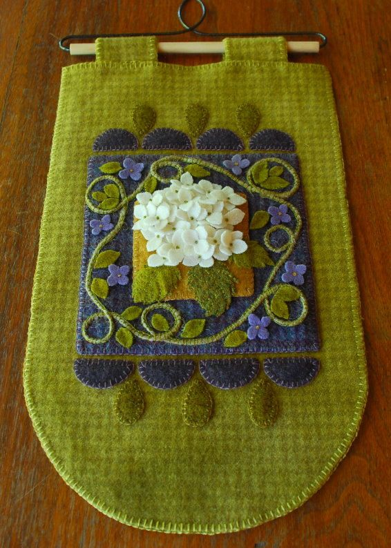 """Apliques de lana patrón """"Bolas de nieve de verano"""" arte colgante de pared penny diseñará alfombra folk mano alfombra teñida enganche patrón de tejido de lana"""