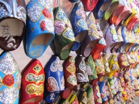 Shoקs at Mogador's Market, Morocco