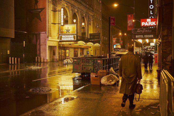 Richard Rodgers Theatre on Broadway: Hamilton Musical.