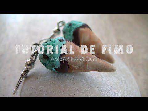 TUTORIAL DE FIMO (helado de menta) | ambarina vlogs ♥ - YouTube
