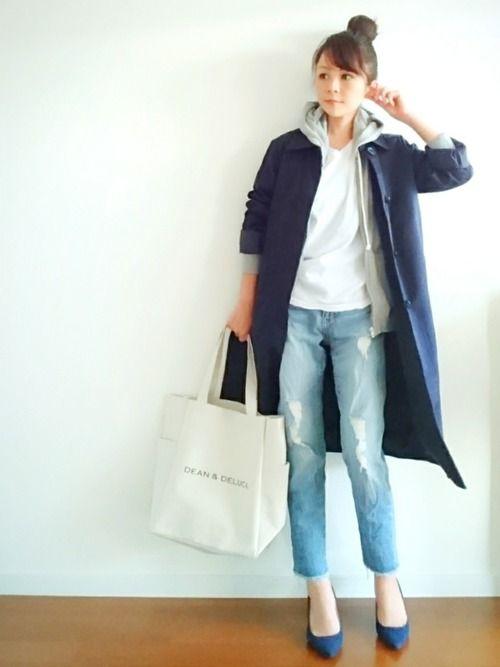 u.e.made*│SEVENDAYS=SUNDAY Down Jacket/Coat Looks - WEAR